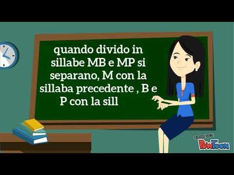 Maestra Catia e le parole con la MB e MP