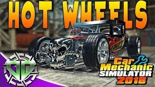 Car Mechanic Simulator 2018 : Hot Wheels Boneshaker Rat Rod Restoration! (PC Let