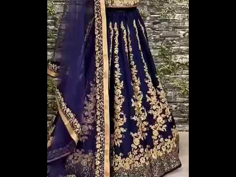 Wedding Designer lehenga | wholesale market in surat | Surat Textile World | F3Fashion.com