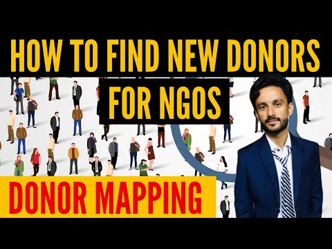 How To Find New Donors For NGOs | Donor Mapping For Nonprofits