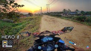 Motovlogging with world's best action camera | Go Pro Hero 8 | Vlog 131