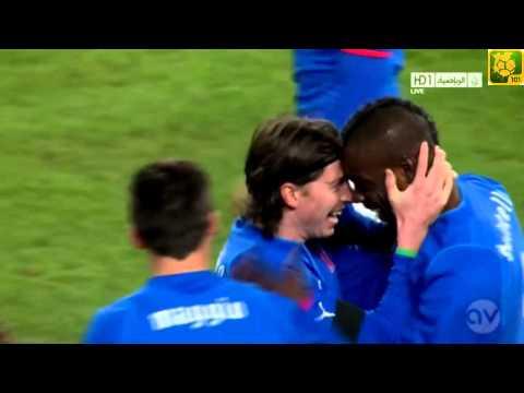 Mario Balotelli Amazing Goal ( Brazil vs Italy ) 21-03-2013