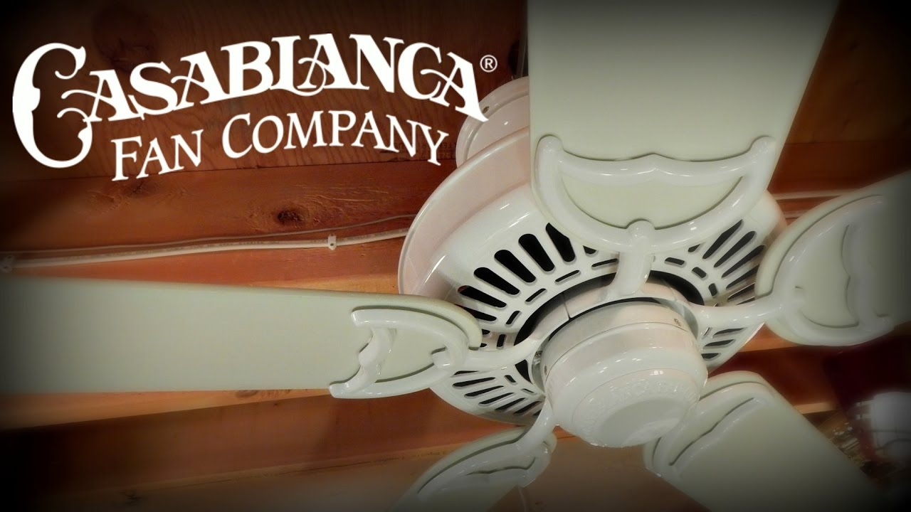 Experience casablanca ceiling fans vintage fans more youtube aloadofball Choice Image