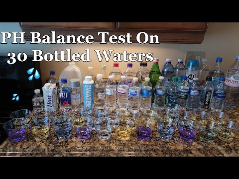 PH Balance Test On 30 Different Waters | Bottled Water PH Level Test
