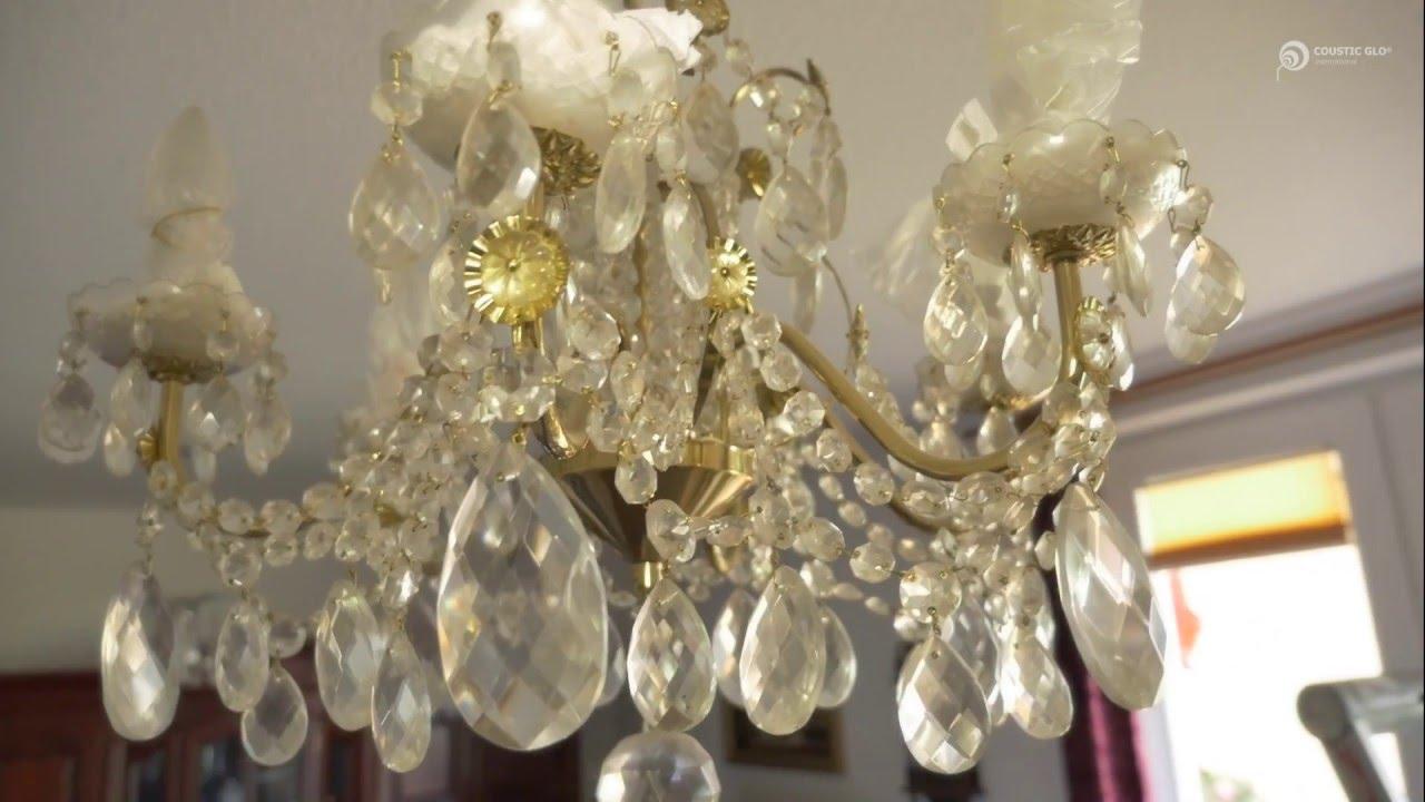 Kristall Kronleuchter Putzen ~ Coustic glo kronleuchter kristallklar youtube