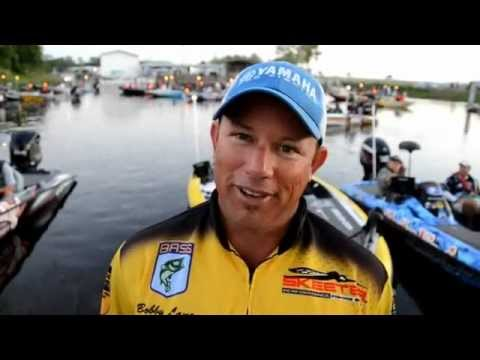 Bobby Lane Day 2 Interview at Lake Okechobee BASS Elite Series Event