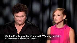 Dot Jones and Jayma Mays Talk GLEE Season 3