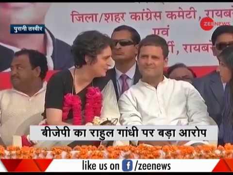 Deshhit: Smriti Irani attacks Rahul Gandhi and Priyanka Gandhi Vadra on Corruption