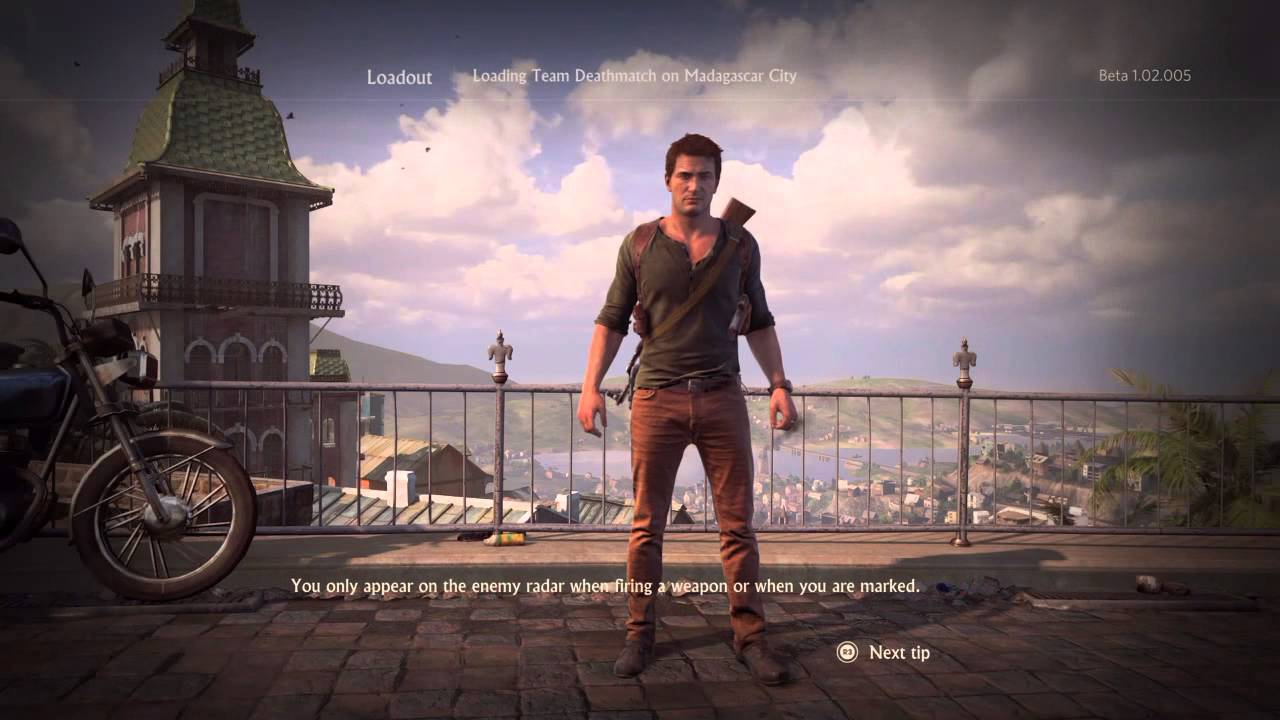 Uncharted 4 Multiplayer Beta Nathan Drake Gameplay Youtube