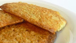 Печенье «Легкость» с Овсяными Хлопьями кулинарный видео рецепт