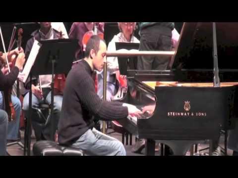 Antonio Pompa-Baldi playing Mendelssohn First Piano Concerto