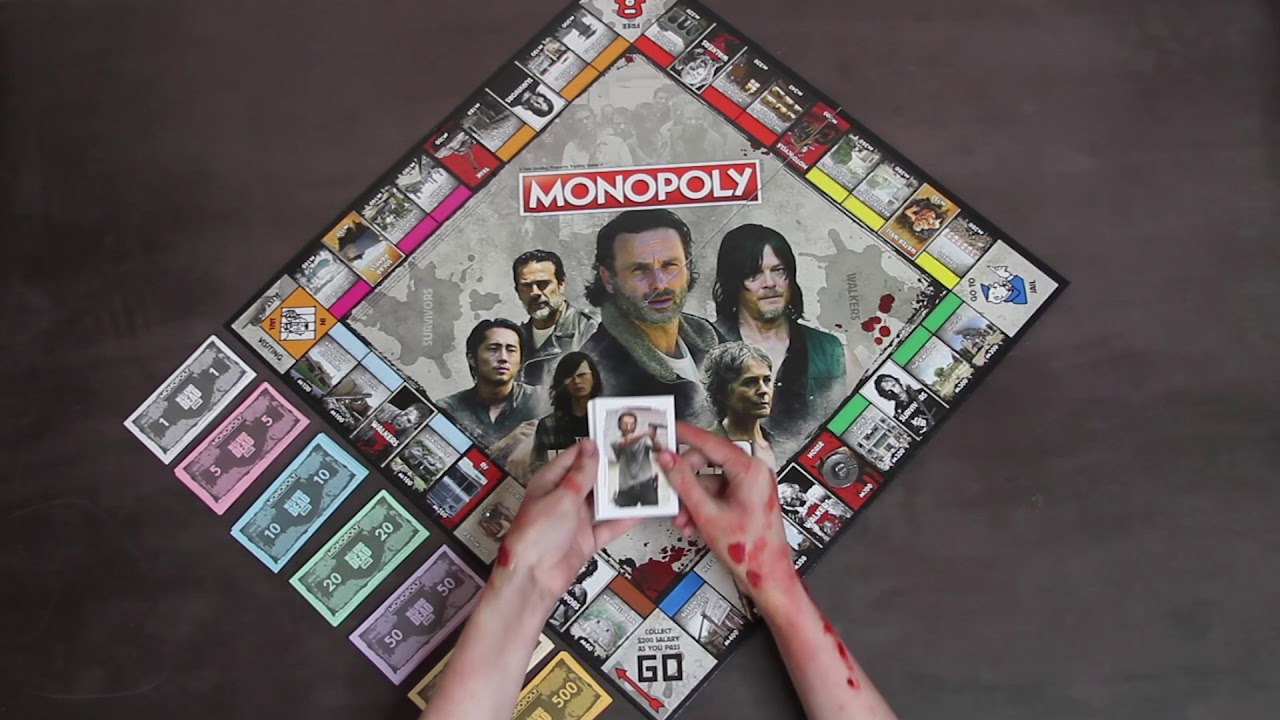 Monopoly Walking Dead Deutsch