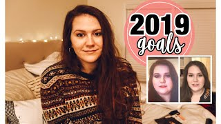 New Year's Resolutions and Goals for 2019 || My Weight Loss Journey