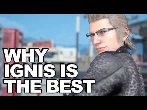 Why Ignis Is Final Fantasy XV's Best Character (Story Review)