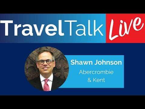 Travel Talk Live: Shawn Johnson with Abercrombie & Kent