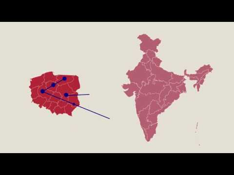 India and Poland Partners in Progress Commercial relations 3 minutes in Polish