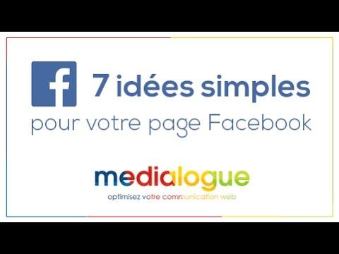7 idées simples de publication sur Facebook #04