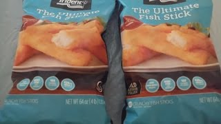 Two BIG bags of Fish Sticks Challenge!