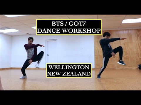 BTS & GOT7 International Kpop Dance Workshop (Wellington, NZ)