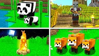 How to PLAY THE NEW MINECRAFT UPDATE EARLY! (Pandas & Foxes)