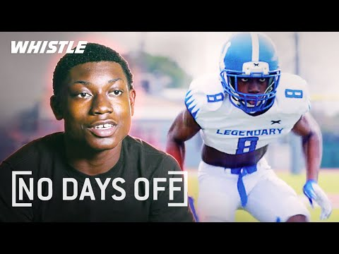 13-Year-Old Football PRODIGY Trains With NFL Players