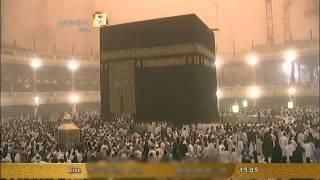 الحرم المكي يتحول الى ليل وظلام ظهر الجمعه 21-1-1436 -14-11-2014