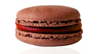 easy chocolate macaron with raspberry ganache foolproof tutorial