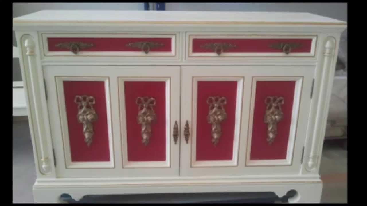 Galva lacados y barnizados pintados y lacados sobre - Muebles antiguos pintados ...