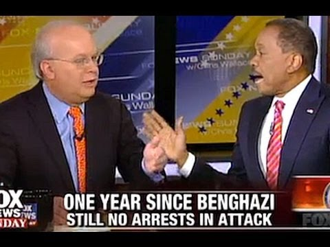 Juan Williams and Karl Rove Clash Over Benghazi Scandal - Fox News Sunday - 9/8/13