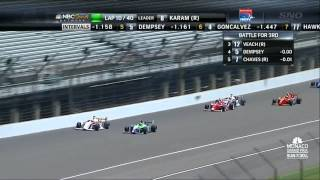 2013 Indy Lights Round 4 Firestone Freedom 100 @ IMS (Full Race)