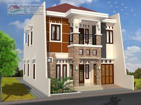 rumah minimalis lantai 2_modern house (9x15) - youtube