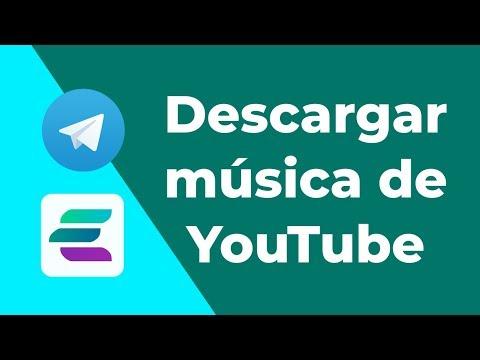 Descargar música de YT || Telegram