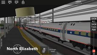 The Northeast Corridor Amtrak Clocker In Roblox