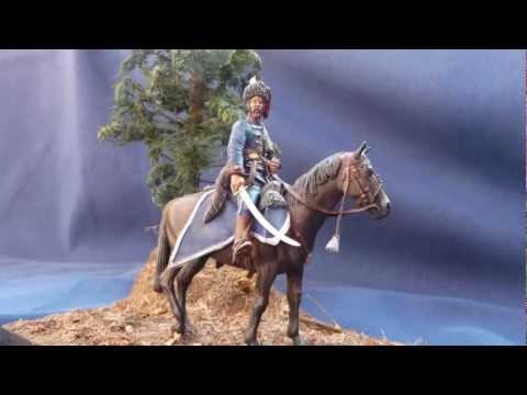 "Hecker & Goros ""Bavarian Hussar 1688"" in 54mm scale"