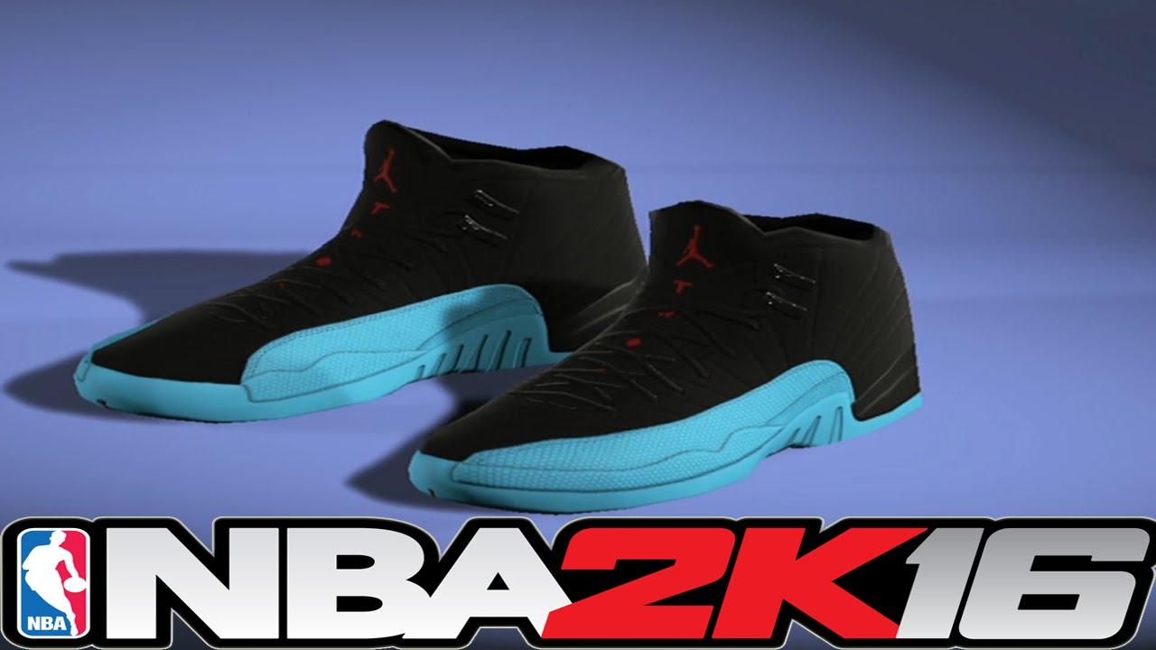 756c5932d0d38f ... wholesale nba 2k16 shoe creator jordan 12 gamma blue nba2k16 2302e ac952