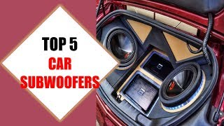 Top 5 Best Car Subwoofers 2018 | Best Car Subwoofer Review By Jumpy Express