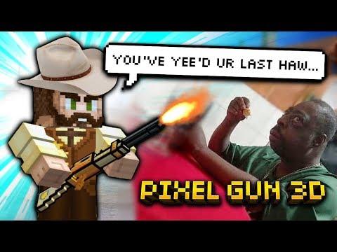 Pixel Gun 3D - Police Weapon Gameplay!