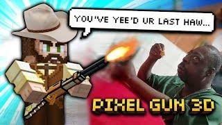 Pixel Gun 3d - Police Weapon Gameplay
