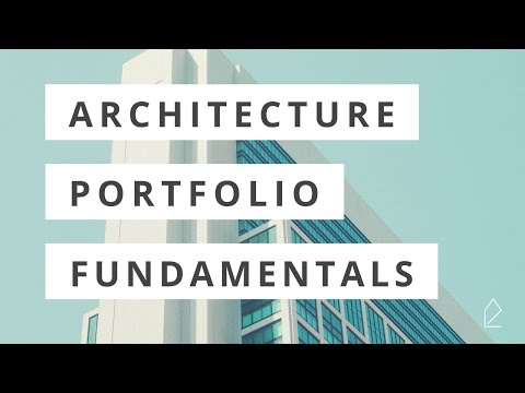 Workshop Wednesday / Architecture Portfolio Fundamentals