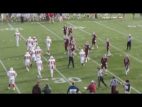 Sacred Heart vs Fordham - Playoff Football - Nebrich pass to Tebucky Jones Touchdown - 11-30-13