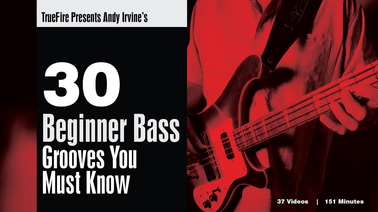 Download Andy Irvine's 30 Beginner Bass Grooves You MUST Know - Intro