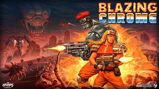 Blazing Chrome Co-Op Battle!