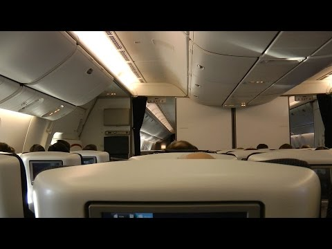 777-300ER Premium Economy British Airways BA016: Sydney to S