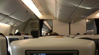 777-300ER Premium Economy British Airways BA016: Sydney to Singapore (World Traveller Plus)
