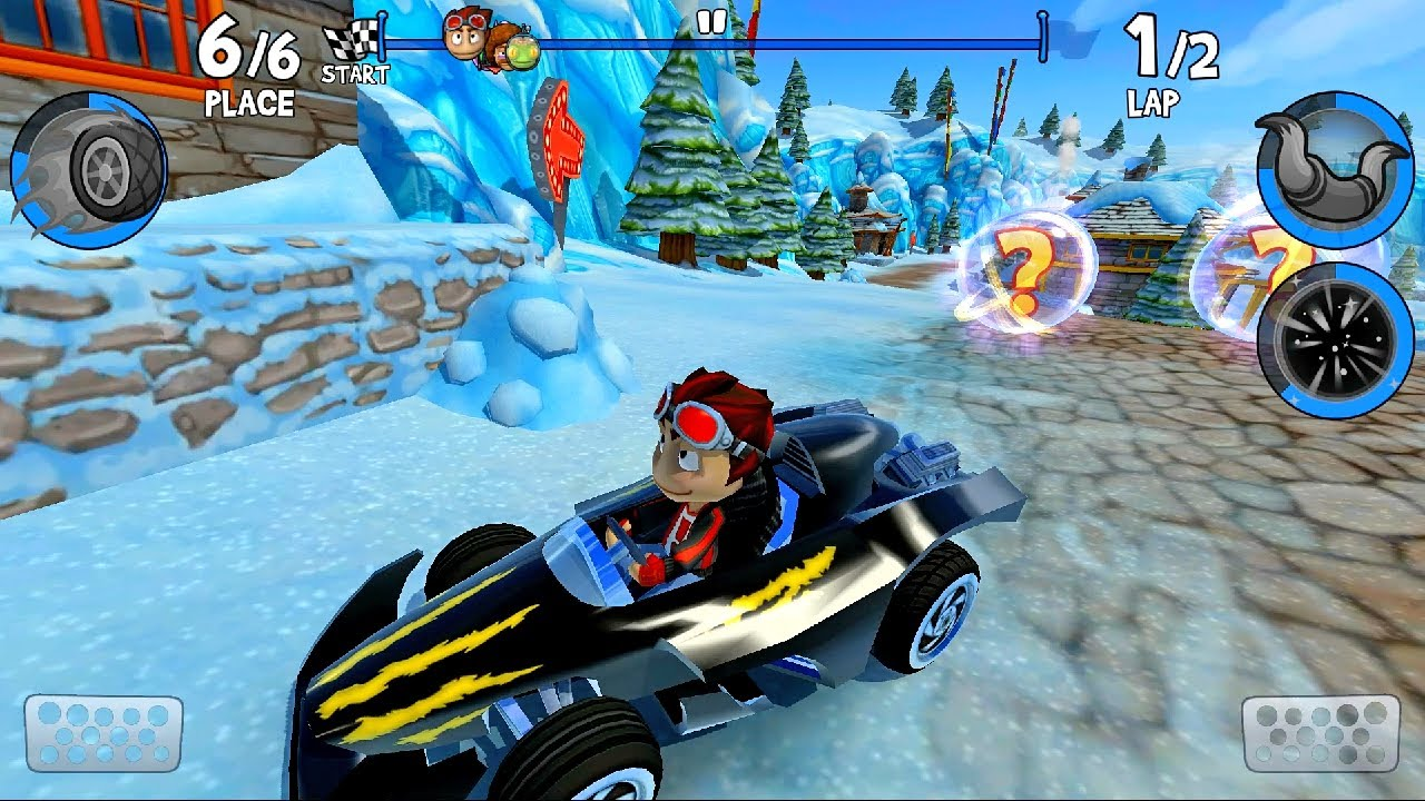 Rez Ride a Black Twister Quick Race Game Play | Beach Buggy Racing 2 #39