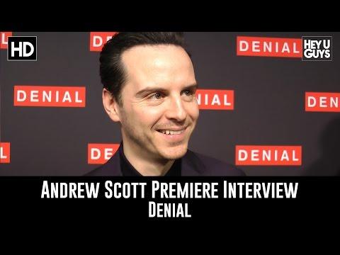 Andrew Scott - Denial Premiere Exclusive Interview