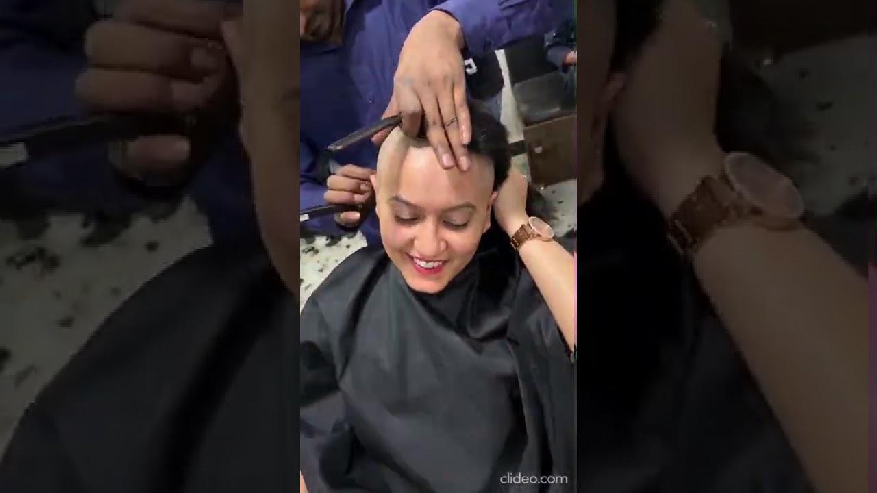 India Girl Headshave | Hair Donate