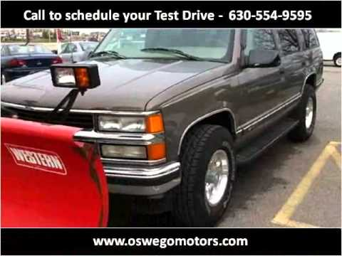 1997 Chevrolet Tahoe Used Cars Oswego IL