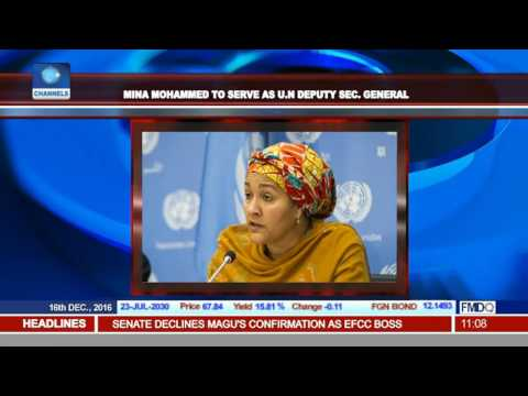 United Nations Appointment: Amina Mohammed To Serve As Deputy Secretary General