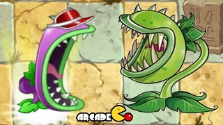 Plants Vs Zombies 2: Chomper Vs Chomper Vasebreaker Old New Version